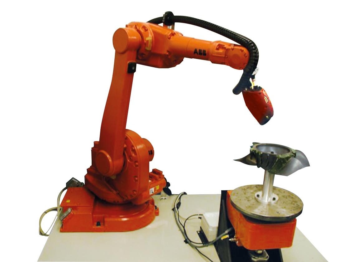 DIMX 3D sur robot